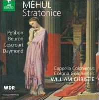 Méhul: Stratonice - Cappella Coloniensis; Corona Coloniensis; Etienne Lescroart (tenor); Karl Daymond (baritone); Patricia Petibon (soprano);...