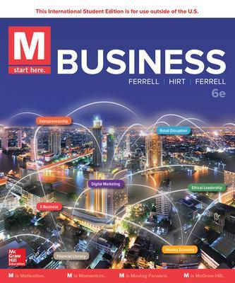 M: Business - Ferrell, O. C., and Hirt, Geoffrey, and Ferrell, Linda