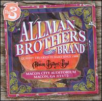 Macon City Auditorium: 2/11/72 - The Allman Brothers Band