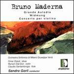 Maderna: Concerto per violino