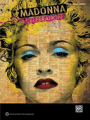 Madonna: Celebration: Piano/Vocal/Guitar - Madonna