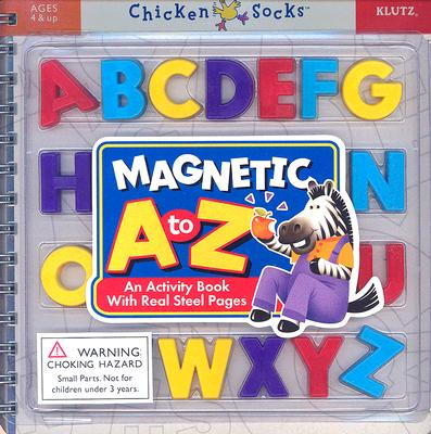 Magnetic A to Z: An Activity Book with Real Steel Pages! - Klutz Press (Creator)
