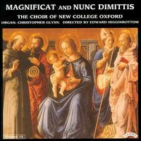 Magnificat and Nunc Dimittis, Vol. 15 - New College Choir, Oxford (choir, chorus); Edward Higginbottom (conductor)