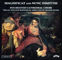Magnificat and Nunc Dimittis, Vol. 6 - William Whitehead (organ); Rochester Cathedral Choir (choir, chorus)