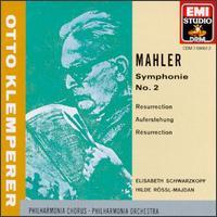 "Mahler: Symphony No. 2 ""Resurrection"" - Elisabeth Schwarzkopf (soprano); Hilde R�ssl-Majdan (mezzo-soprano); Philharmonia Orchestra"