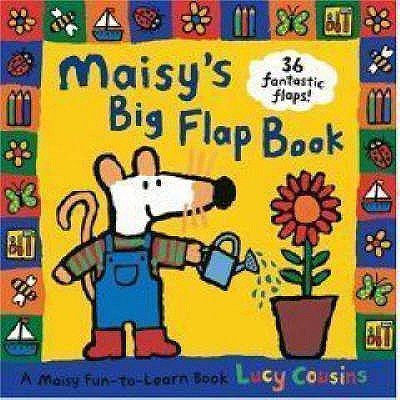 Maisy's Big Flap Book - Cousins, Lucy