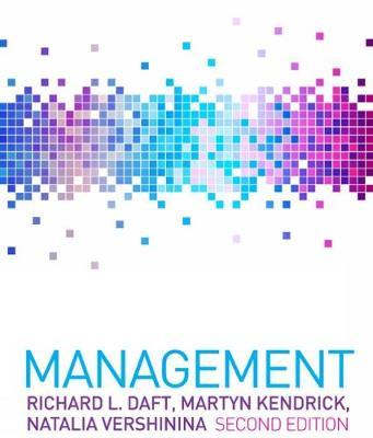 Management: International Edition - Benson, Alan, and Kendrick, Martyn, and Daft, Richard L.