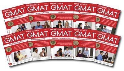 Manhattan GMAT Set of Strategu Guides - Manhattan GMAT