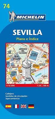 Map 9074 Sevilla -