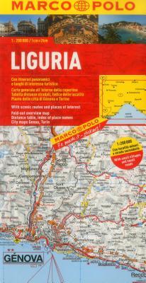 Marco Polo Karte Italien 05. Ligurien 1: 200 000 -