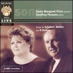 Margaret Price sings Schubert, Mahler & Strauss - Geoffrey Parsons (piano); Margaret Price (soprano)