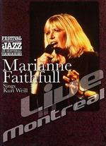Marianne Faithfull Sings Kurt Weill