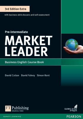 Market Leader 3rd Edition Extra Pre-Intermediate Coursebook with DVD-ROM Pack - Walsh, Clare