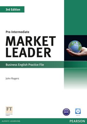 Market Leader 3rd Edition Pre-Intermediate Practice File & Practice File CD Pack - Rogers, John, and Cotton, David, and Falvey, David