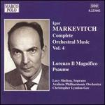 Markevitch: Complete Orchestral Music, Vol. 4