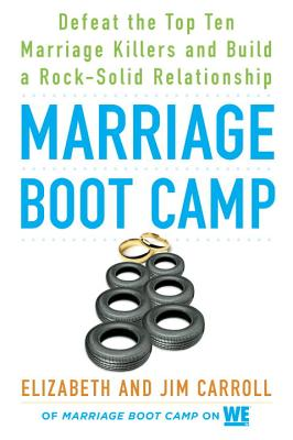 Marriage Boot Camp: Defeat the Top 10 Marriage Killers and Build a Rock-Solid Relationship - Carroll, Elizabeth, and Carroll, Jim