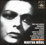 Martha Mödl Sings Opera Arias and Lieder