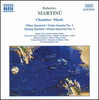 Martinu: Chamber Music - Alexander Ivashkin (cello); Charmian Gadd (violin); Daniel Adni (piano); Isabelle van Keulen (violin);...