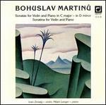 Martinu: Sonatas for Violin and Piano; Sonatina for Violin and Piano