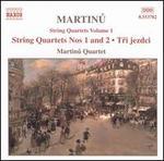Martinu: String Quartets, Vol. 1
