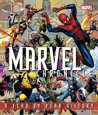 Marvel Chronicle - Manning, Matthew K., and Sanderson, Peter, and Brevoort, Tom