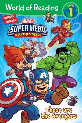Marvel Super Hero Adventures: These Are the Avengers - West, Alexandra C