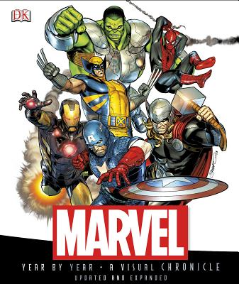 Marvel Year by Year: A Visual Chronicle - Sanderson, Peter