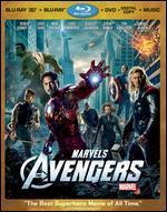 Marvel's The Avengers [4 Discs] [Includes Digital Copy] [3D/2D] [Blu-ray/DVD]