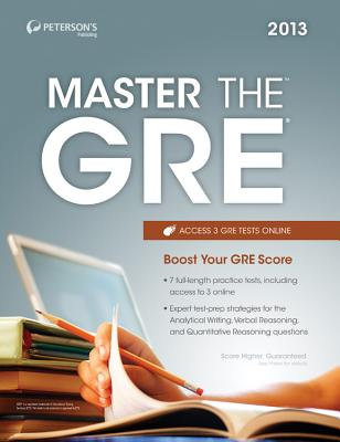 Master the GRE 2013 - Peterson's