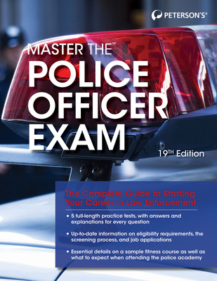 Master the Police Officer Exam - Rafilson, Fred M, and Peterson's