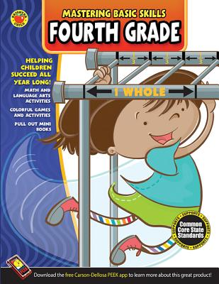 Mastering Basic Skills(r) Fourth Grade Activity Book - Brighter Child (Compiled by)