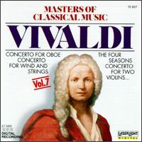 Masters of Classical Music, Vol. 7: Vivaldi - Burkhard Glaetzner (oboe); Christine Schornsheim (harpsichord); Neues Bachisches Collegium Musicum Leipzig