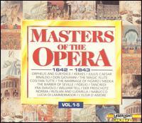 Masters of the Opera, 1642-1843, Vol. 1-5 - Alain Zaepffel (counter tenor); Boris Christoff (bass); Budapest Philharmonic Orchestra; Bulgarian Radio Symphony Orchestra;...