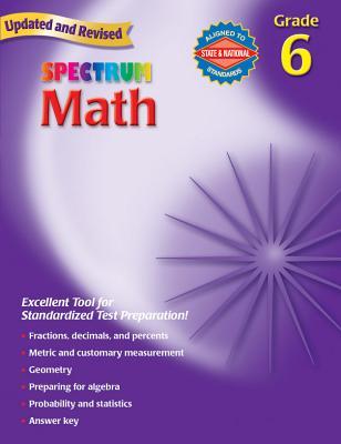 Math, Grade 6 - Richards, Thomas, and Spectrum