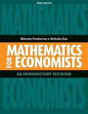 Mathematics for Economists - Pemberton, Malcolm