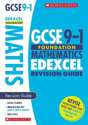 Maths Foundation Revision Guide for Edexcel: Foundation - Murphy, Catherine, and Burns, Gwen