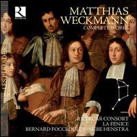 Matthias Weckmann: Complete Works - Bernard Foccroulle (organ); Capella Sancti Michaelis Vocal Ensemble; Enrico Gatti (violin); Guy de Mey (tenor);...
