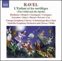 Maurice Ravel: L'Enfant et les sortil�ges; Sh�h�razade - Agathe Martel (soprano); Cassandre Pr�vost (soprano); Genevi�ve Despr�s (mezzo-soprano); Ian Greenlaw (baritone);...