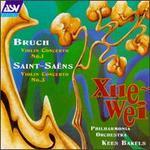 Max Bruch: Violin Concerto No 1; Camille Saint-Saëns: Violin Concerto No. 3
