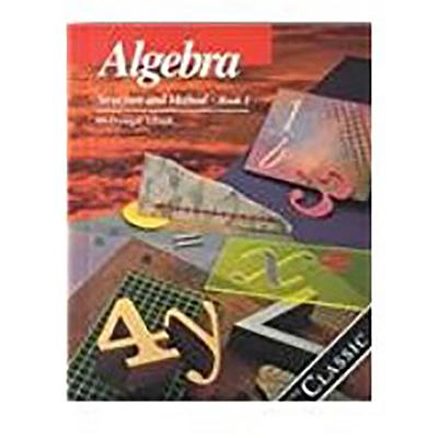 McDougal Littell High School Math: Student Edition Algebra 1 1992 - Dolciani, Mary P, and McDougal Littel (Prepared for publication by)