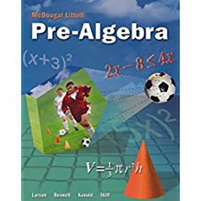 McDougal Littell Pre-Algebra: Student Edition 2005 - McDougal Littel (Prepared for publication by)