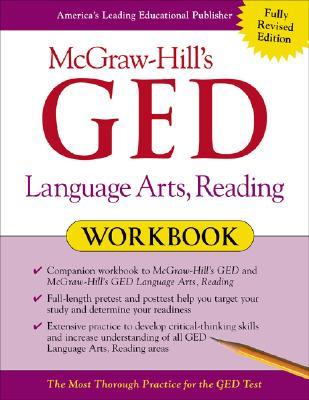 McGraw-Hill's GED Language Arts, Reading Workbook - Reier, John