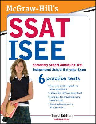 McGraw-Hill's SSAT/ISEE, 3rd Edition - Falletta, Nicholas