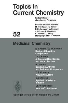 Medicinal Chemistry - Boschke, F L