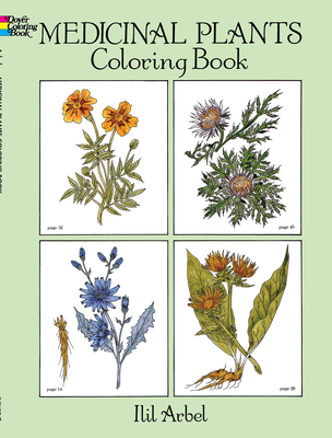 Medicinal Plants Coloring Book - Arbel, Ilil