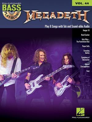 Megadeth: Bass Play-Along Volume 44 - Megadeth