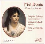 Mel Bonis: L'oeuvre vocale