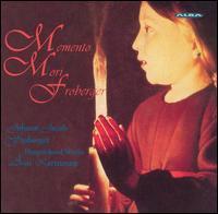 Memento Mori Froberger - Assi Karttunen (harpsichord)