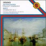 "Mendelssohn/Bizet: ""Italian"" Symphony No. 4/Symphony in C Major"