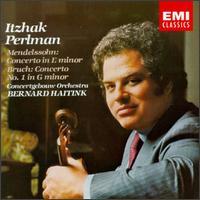 Mendelssohn: Concerto in E minor; Bruch: Concerto No. 1 in G minor - Itzhak Perlman (violin); Royal Concertgebouw Orchestra; Bernard Haitink (conductor)